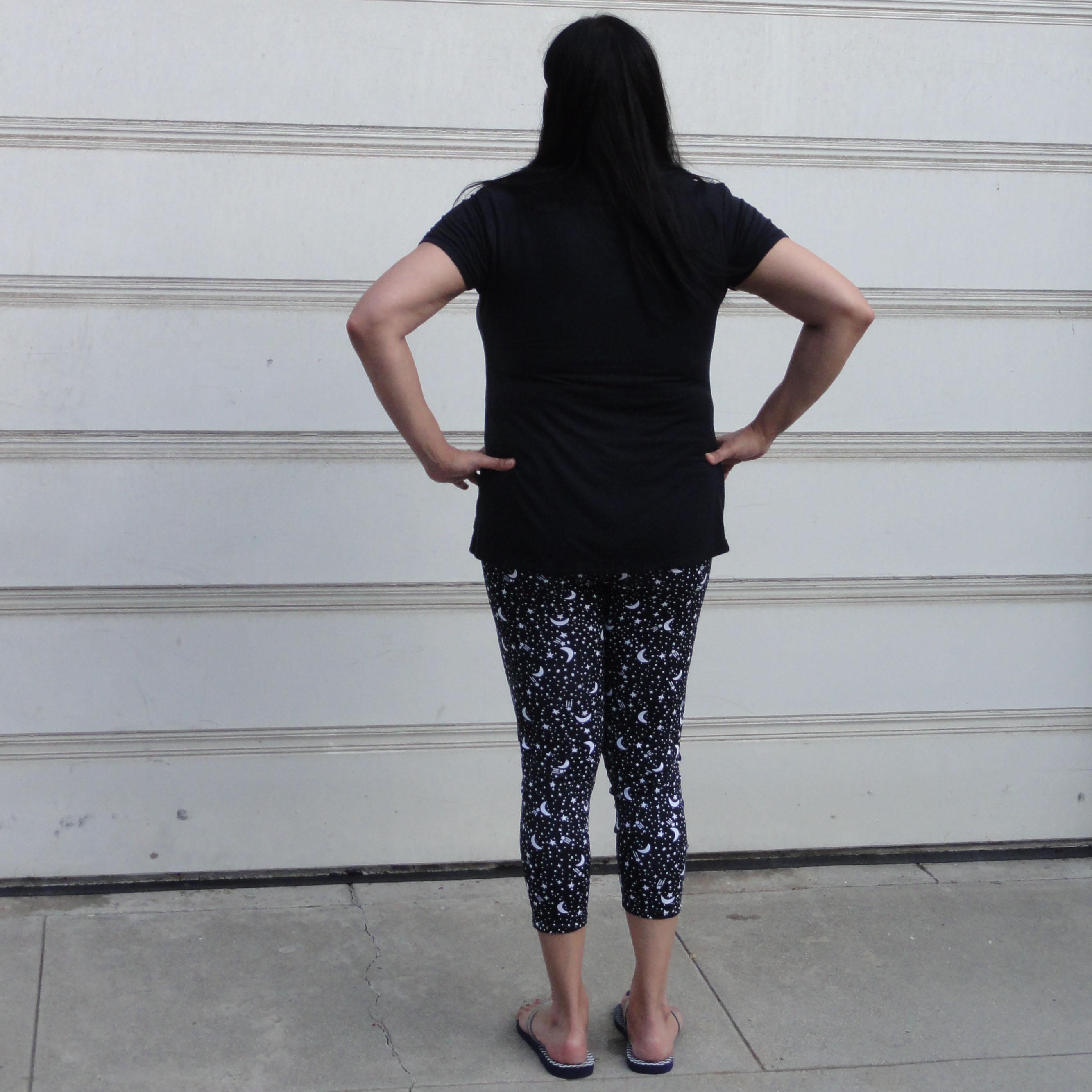 Back View, Stars Pants