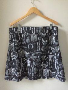 Boneyard Party Skirt