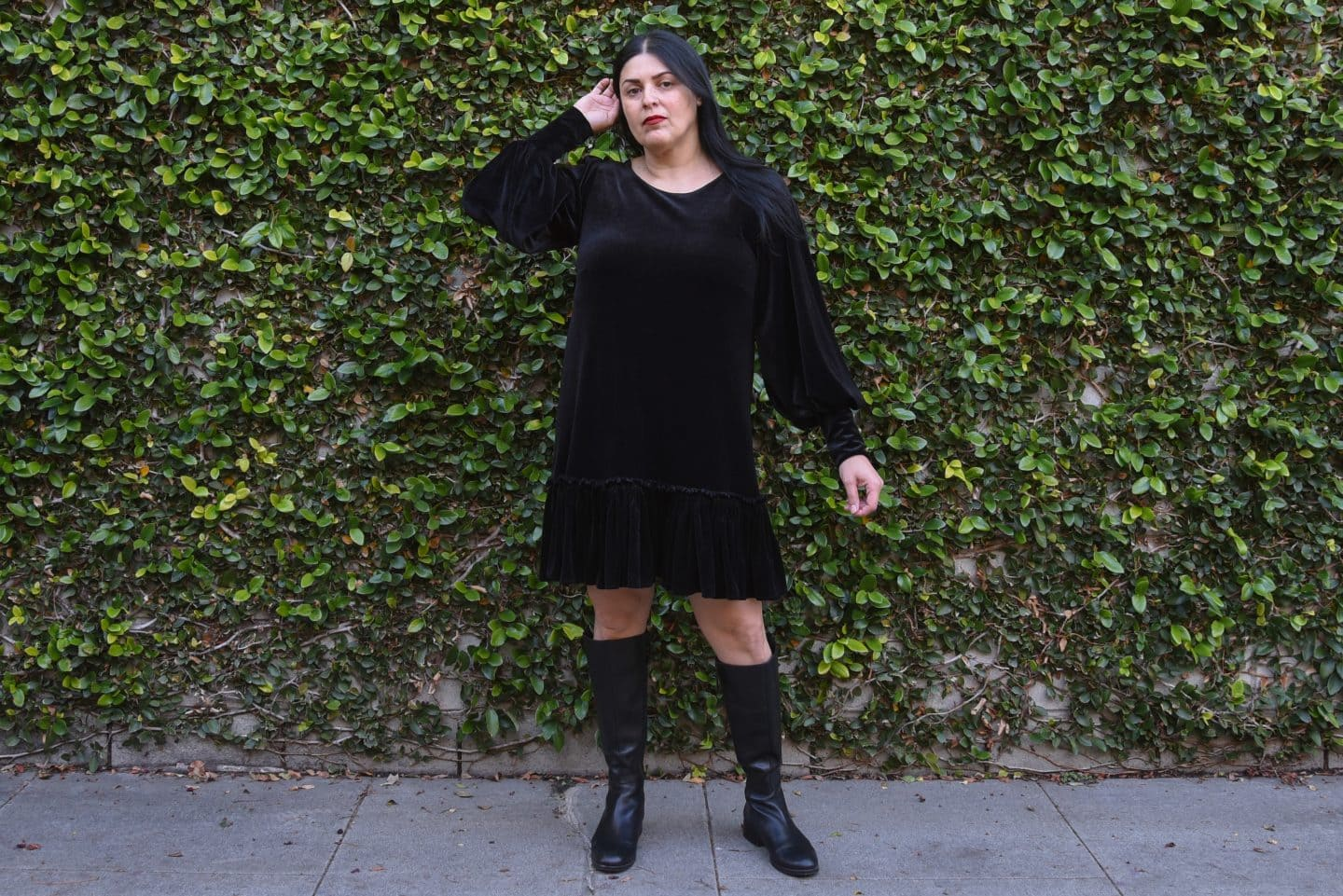 Sew Your Own: H&M Vampire's Wife Velvet Dress