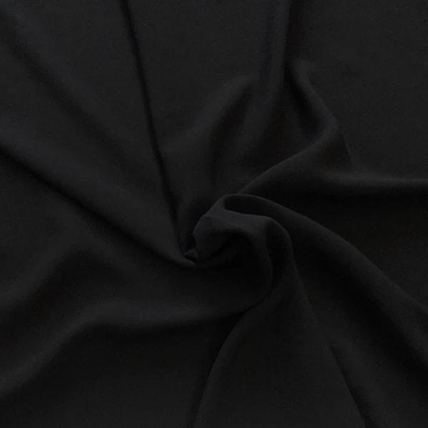 Image of black rayon fabric
